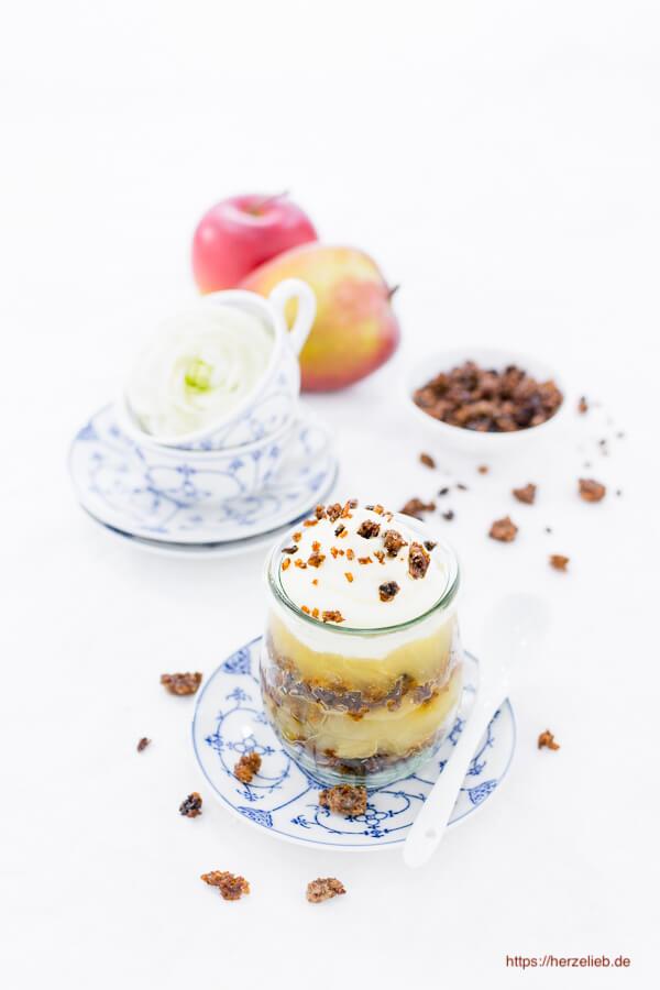 Dessert Rezept Verschleiertes Bauernmädchen