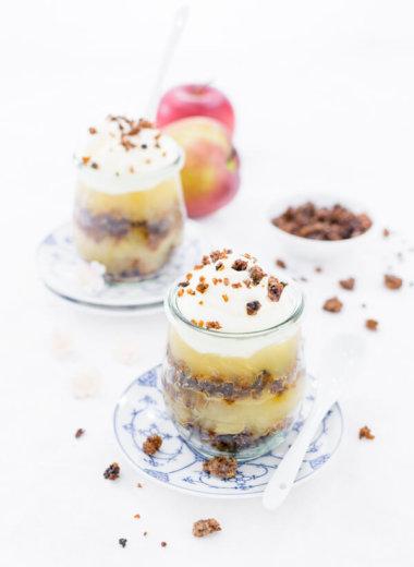 Verschleiertes Bauernmädchen Dessert Rezept