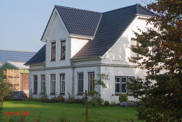 Das Haus aus dem Hof der Familie Witt - heimelig, traditonell und doch modern