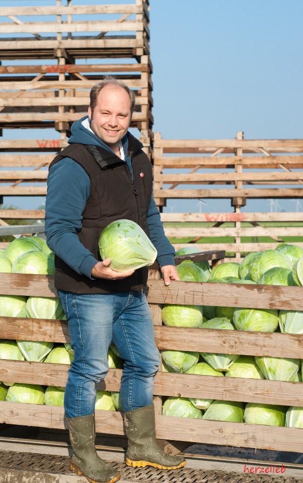 Landwirt Witt aus Dithmarschen - er weiß genau, was er macht!