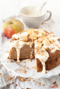 Versuchs doch mal mit diesem Rezept für einen tollen Apfelstreuselkuchen!