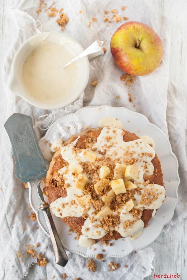 Ein Apfelstreuselkuchen zum Geburtstag! Mit diesem Rezept klappt es bestimmt - versprochen!