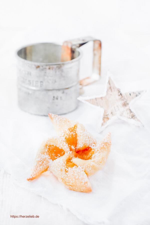Joulutorttu Rezept - finnische Weihnachtsplätzchen