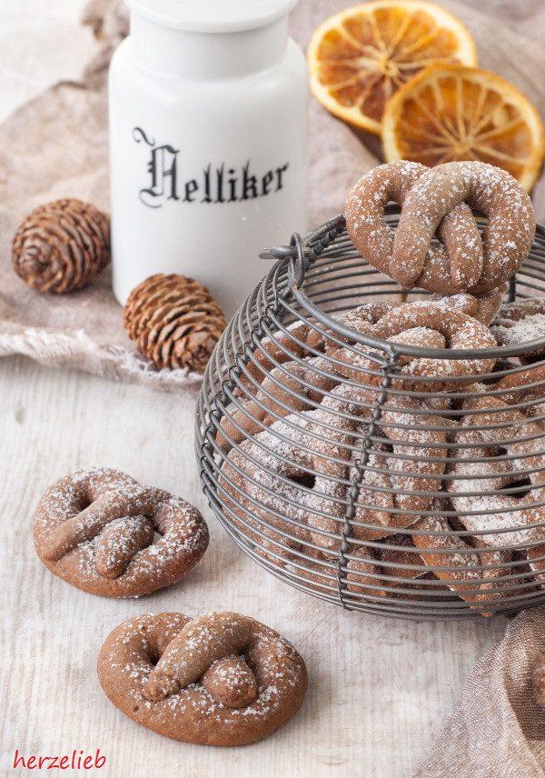 Kekse Backen Weihnachten.Gewurz Orangen Brezelchen Rezept Kekse Ganz Toll Im