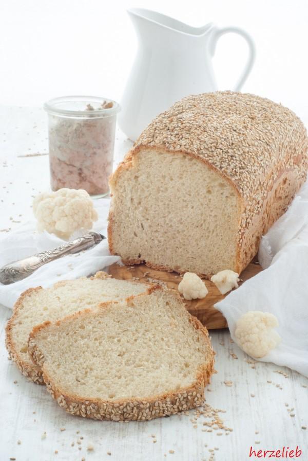 Blumenkohl Brot Rezept backen herzelieb-8