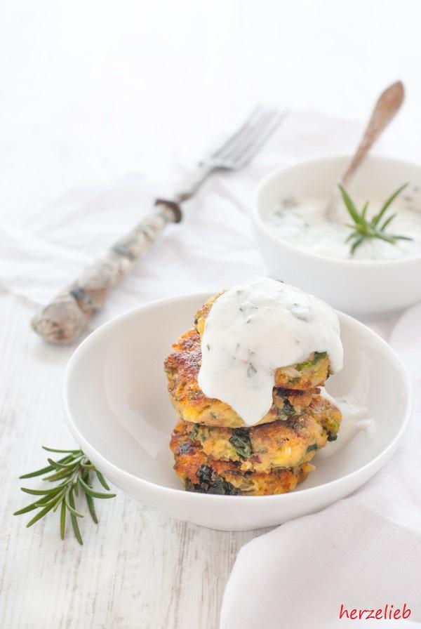 Rezept für Wirsingkohl-Nuggets mit Dip