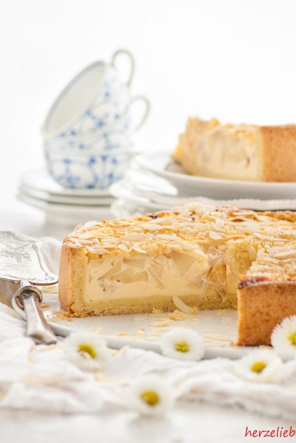 Nordfriesischer Apfel-Schmand-Kuchen - ein Kuchentraum!