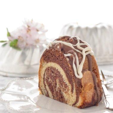 Ein Stück Marmorkuchen für dich!