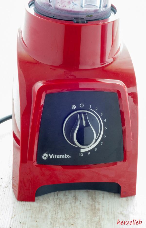 Der Vitamix S30 verfügt über eine stufelnlos verstellbare Geschwindigkeitsregelung