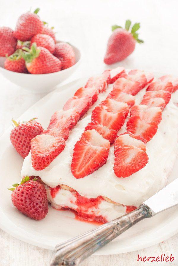 Erdbeer Tiramisu Rezept Fur Ein Einfaches Dessert