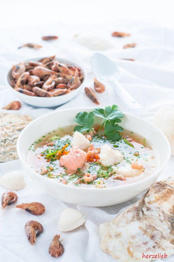 Fischsuppe von der Nordsee - ob Husum oder Sylt, jede Familie hat ihr Rezept!