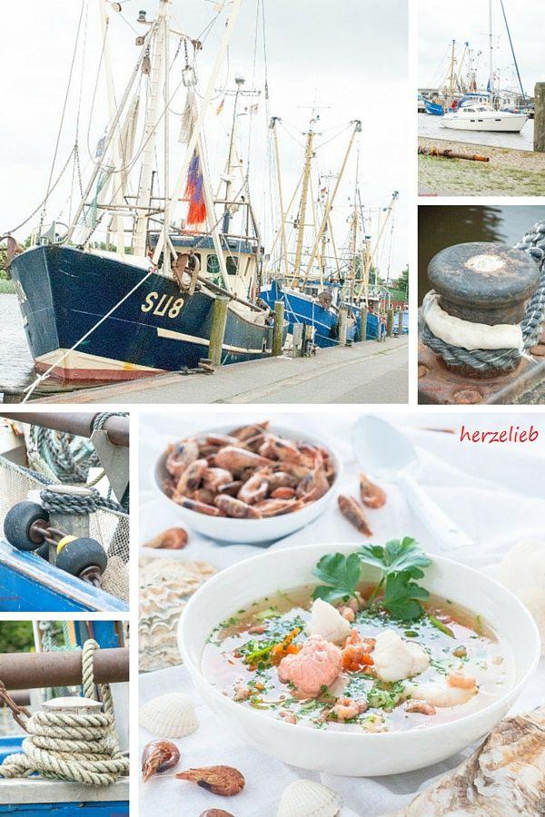 Husumer Fischsuppe mit Fisch aus dem Husumer Hafen
