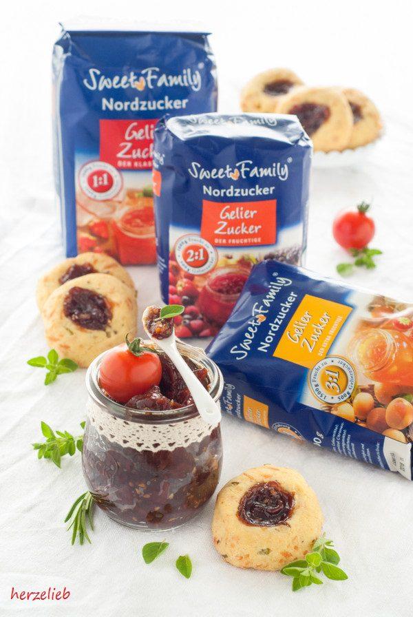 Rezept für herzhafte Tomatenmarmelade mit Nordzucker - 2:1