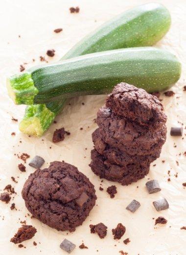 Zucchini Kekse mit Schokolade nach diesem Rezept ganz einfach nachzubacken.
