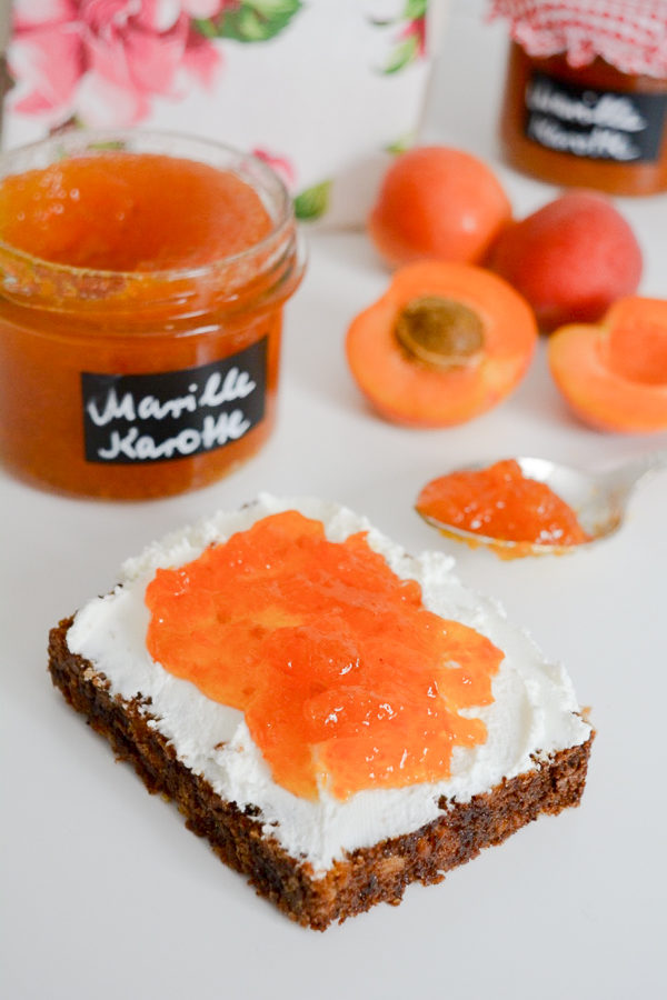 Marillen Karotten Konfitüre