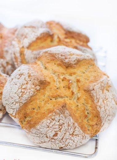 Ein Soda Bread Rezept auf herzelieb.de