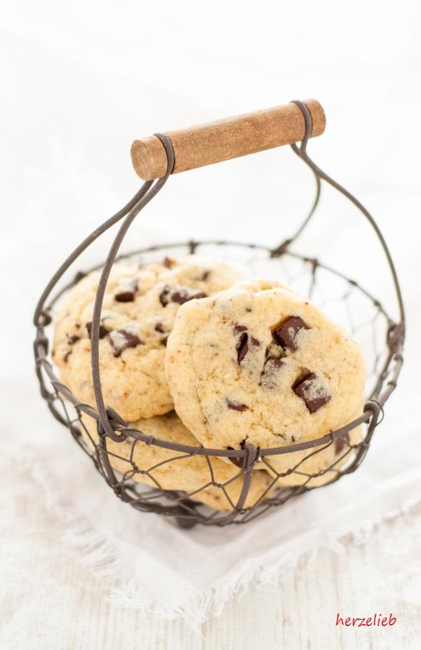 Chocolate Chip Cookies – Kekse mit hartgekochtem Ei im Teig