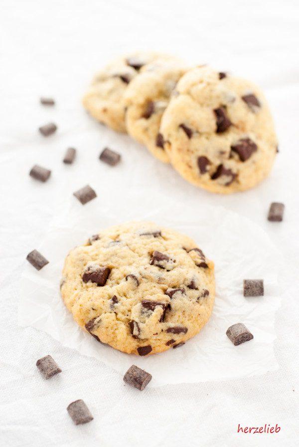 Die saftigsten Chocolate Chip Cookies, die ich je gebacken habe