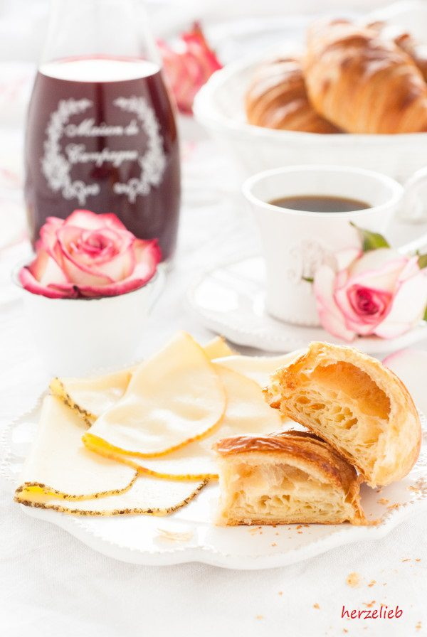 Rezept für Original französische Croissants ohne Vorteig