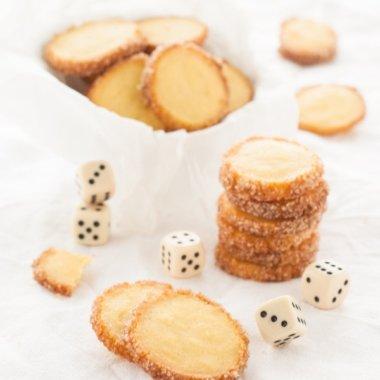 Zitronen-Kardamom-Kekse - ein einfaches Rezept von herzelieb