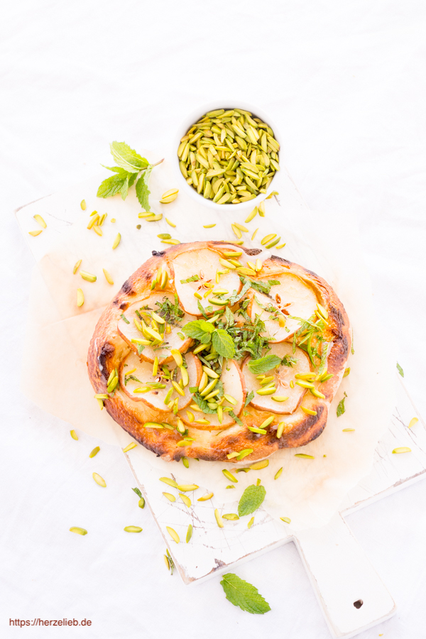 Kuchen Pizza Diese Birnen Pizza Ist Bei Uns Der Hit