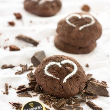 Delicious Guinness Cookies // Lecker Guinness Kekse - Rezept zum Nachbacken!