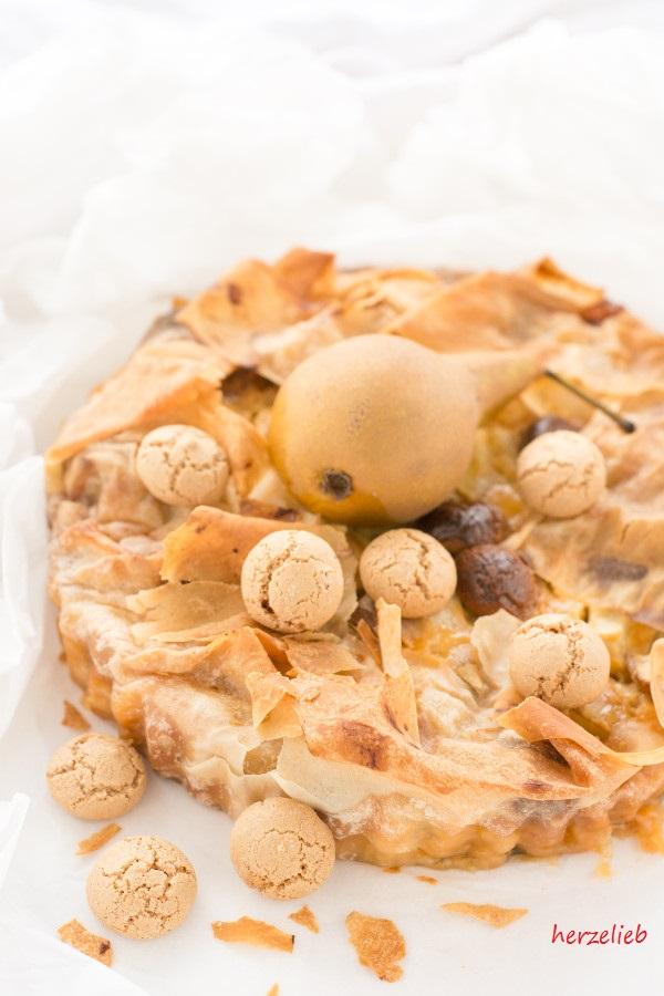 Birnenkuchen - Birnentarte Rezept