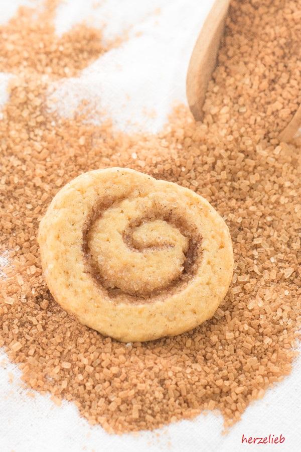 Zimtschnecken-Kekse - ein ganz außergewöhnliches Rezept