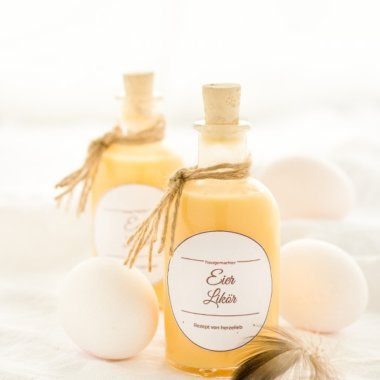 Leckeres Rezept für Eierlikör // Eggnog Recipe homemade