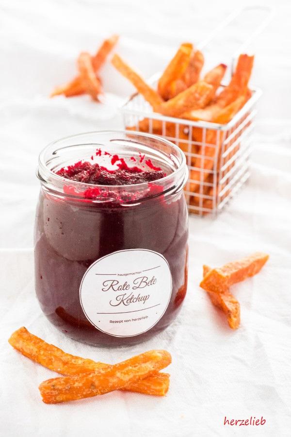 Rezept für Rote Bete Ketchup made by herzelieb.de