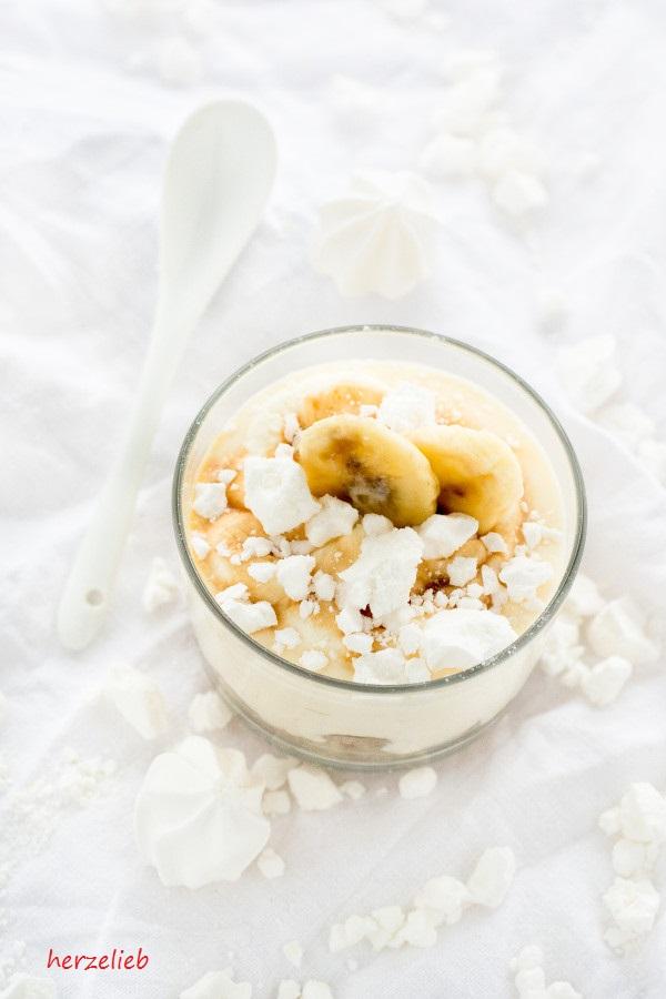 Bananen Dessert - Rezept von herzelieb