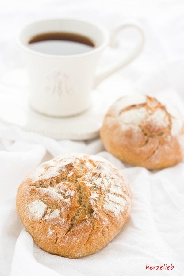 Kartoffelbrötchen backen - zum Kaffee einfach super!