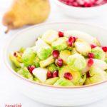 Rezept für Rosenkoh-Birnen-Salat von herzelieb