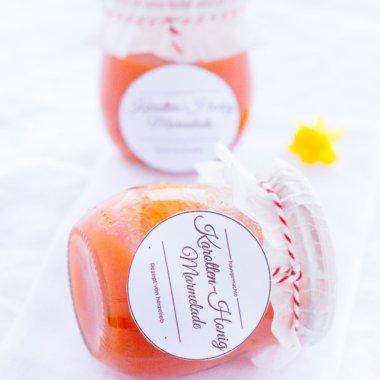 Mit diesem Rezept für Karotten-Honig-Marmelade zaubert ihr eine tolle Kuchenfüllung!