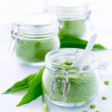Tolles Mitbringsel: Bärlauch-Salz ist ein tolles Geschenk!