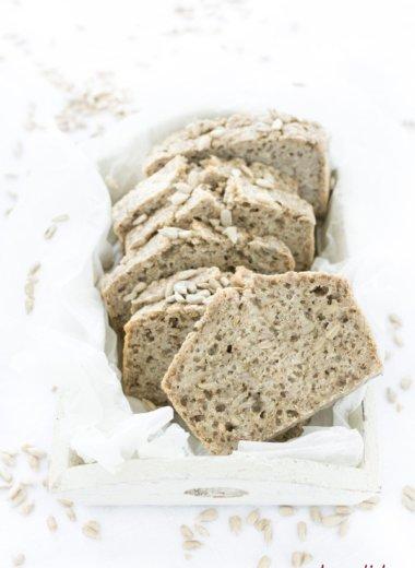 Glutenfrei und vegan - fermentiere Buchweizenbrot von herzelieb