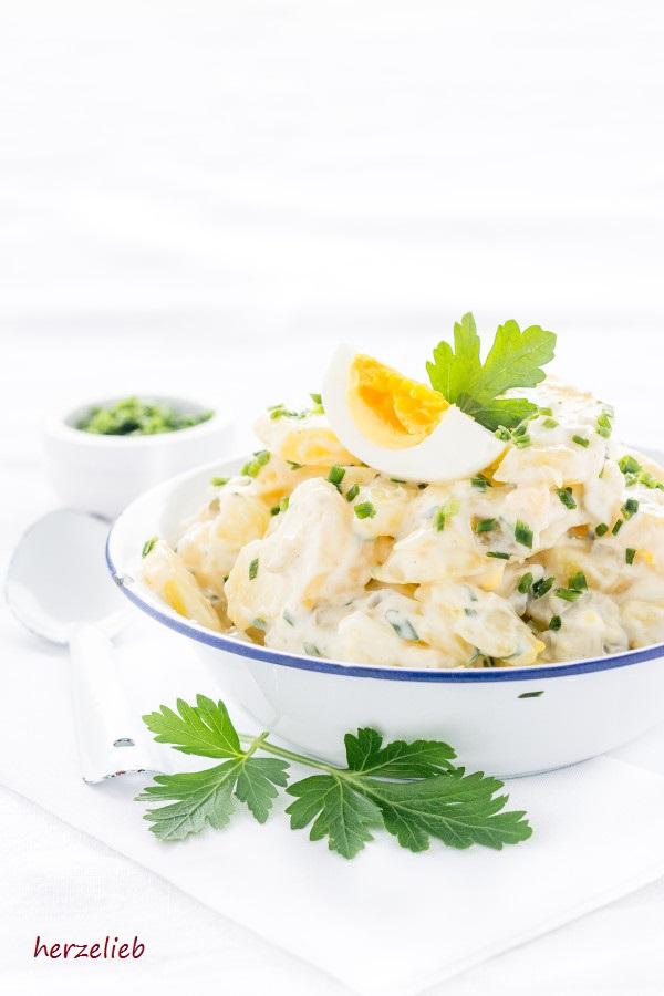 Wie von Mutti – Kartoffelsalat mit wenig Mayonnaise