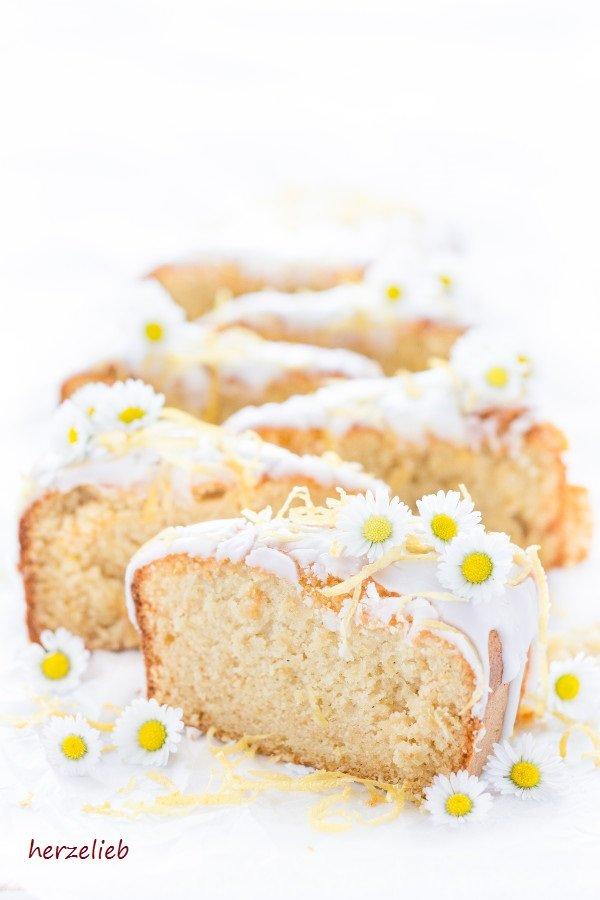 Schwedisches Rezept von herzelieb. Mazarin Zitrus Kuchen - sehr lecker!