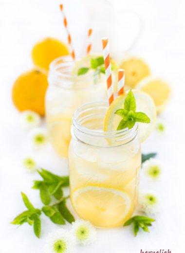 Switchel Rezept von herzelieb - mit Orangensaft