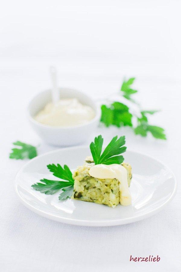 Kartoffel Kohlrabi Happen sind schnell gemaacht nach dem Rezept von herzelieb.