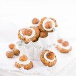 Ganz einfach sind diese Haselnuss Kekse zu backen. Rezept von herzelieb
