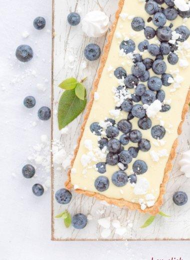Rezept aus Dänemark von herzelieb - leckere Zitronen-Tarte