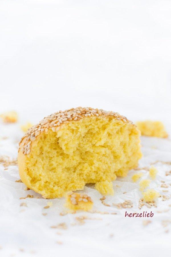 Rezept für dänische Brötchen - Gyldne Boller auf herzelieb