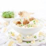 Rezept für Pastinaken Suppe - mit Senf und Fleischbällchen ein Genuss!