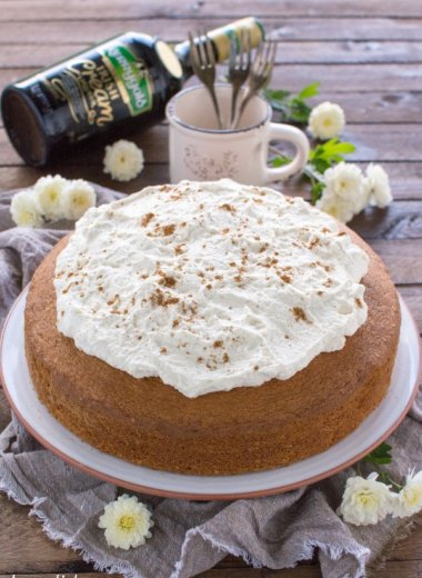 Irish Cream Kuchen mit Kerrygold Irish Cream Liqueur von Kerrygold