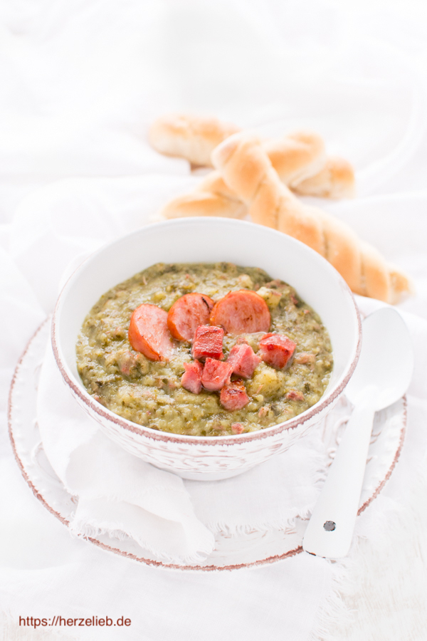 Klassische Grünkohlsuppe - Rezept von herzelieb
