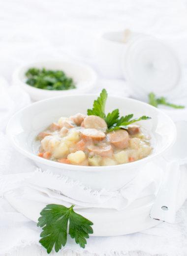 Rezept für klassische Kartoffelsuppe von herzelieb