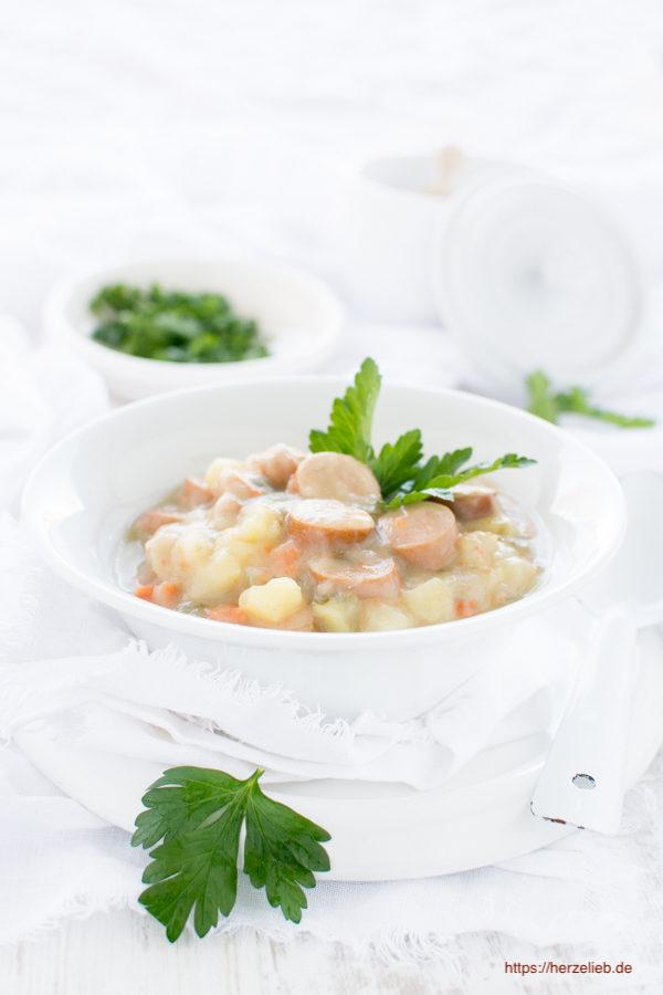 Rezept Für Kartoffelsuppe Einfach Klassisch Und Superlecker