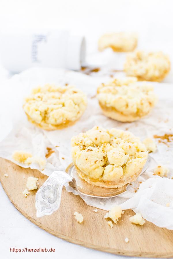 Apfelkuchen Kekse mit Butterstreuseln - Rezept