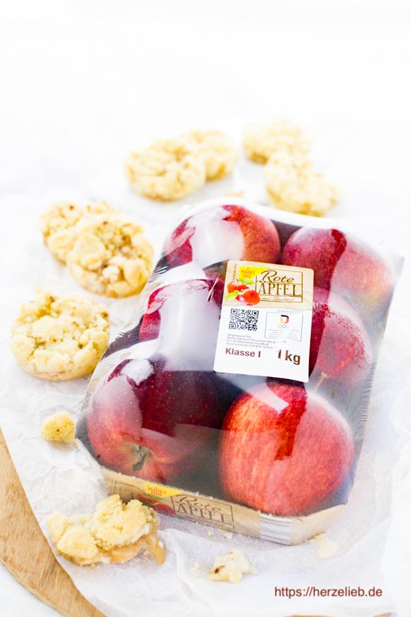 Apfelkuchen Kekse - Rezept von herzelieb